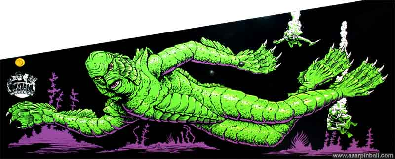 Bally Creature from the Black Lagoon @ www aaarpinball com
